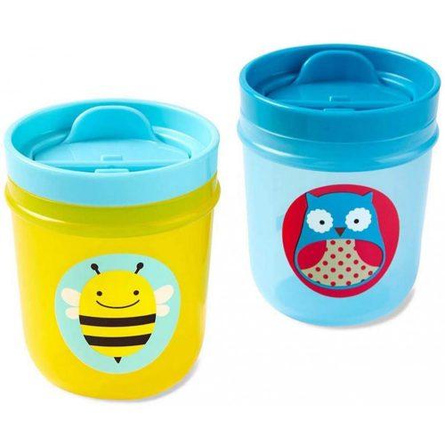 Skip Hop Zoo Tumbler Cups pohár méhecske és bagoly