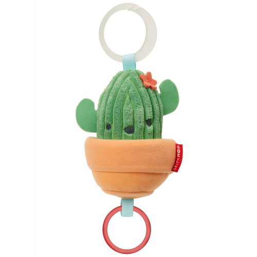 Skip Hop felhúzható rezgő plüss babakocsira - kaktusz
